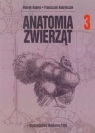 Anatomia zwierząt Tom 3 Kobryń Henryk, Kobryńczuk Franciszek