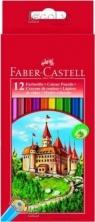 Kredki drewniane 12 kolorów + ołówek grafitowy GRIP 2001 (115850)