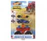 Hot Wheels Monster Trucks: Pojazd Monster Maker - Czerwony (GWW13/GWW14)