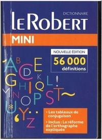 Dictionnaire le Robert mini langue francaise