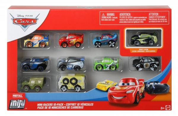 Pojazdy Cars Mikroauta 10-pak Mix 1 (GKG08/GKG68)