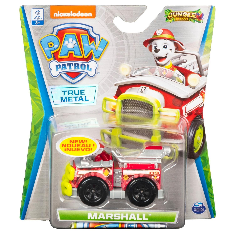 Psi Patrol Jungle Rescue: pojazd metalowy - Marshall (6053257/20121337)