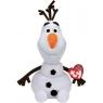 Maskotka Beanie Babies Disney Olaf - bałwanek z dźwiękiem 25 cm