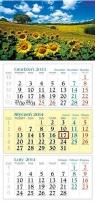 Kalendarz 2014 Słoneczniki