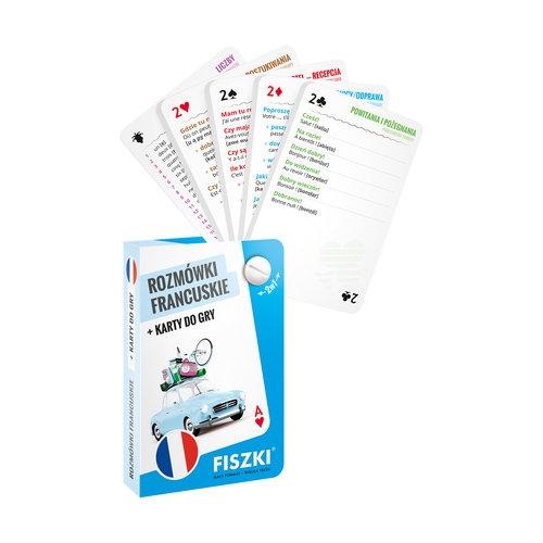 Rozmówki francuskie i karty do gry 2w1 Perczyńska Kinga