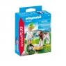 Playmobil Special Plus: Pani weterynarz z cielaczkiem (70252)