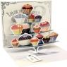 Kartki 3D - Cupcake Tier