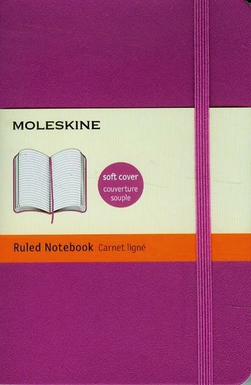 Notes P Moleskine Classic w linie orchidea