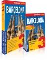 Barcelona 3w1: przewodnik + atlas + mapa