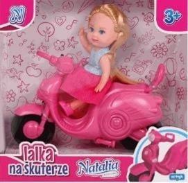 Lalka Natalia na skuterze