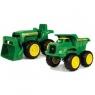 John Deere Wywrotka + traktor (42952)