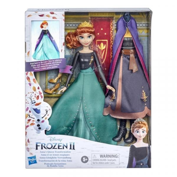 Lalka Frozen 2 Anna Magiczna przemiana (E9419)