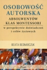 Osobowość autorska absolwentów klas Montessori