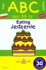 ABC jedzenie z naklejakami. Ćwiczenia dwujęzyczne