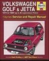 Volkswagen Golf and Jetta 1974-84 A. K. Legg