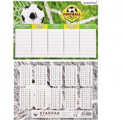 Plan lekcji Footbal (25szt)