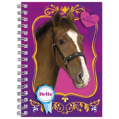 Notes spiralny A6 Konie