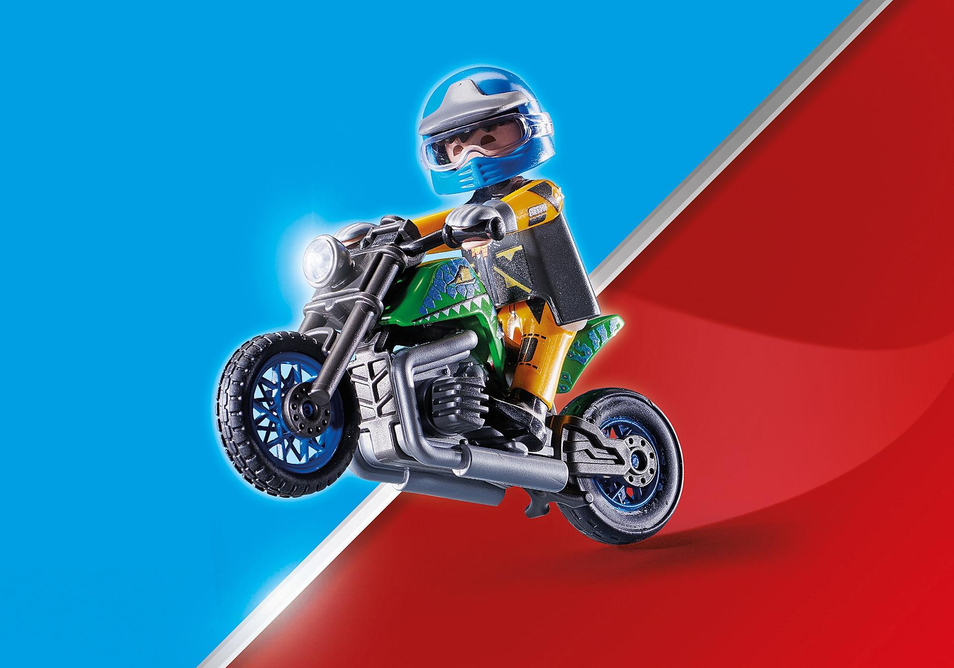Playmobil Stuntshow: Pokaz kaskaderski, Namiot serwisowy (70552)