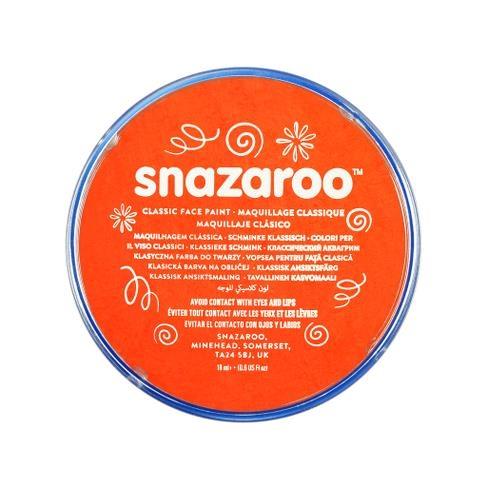 Farba do twarzy i ciała Snazaroo 18ml - pomarańczowa (1118552)