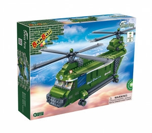 BanBao 8852 Armia. Śmigłowiec CH-47 Chinook