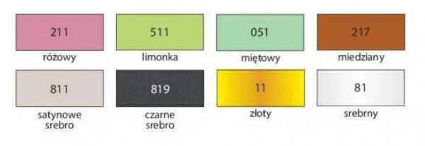Farba akrylowa - srebrny metaliczny 75ml (HA 7370 0075-81)