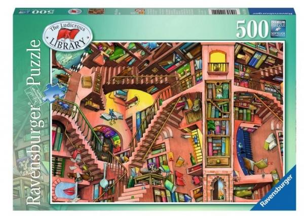 500 EL. Groteskowa biblioteczka (142040)