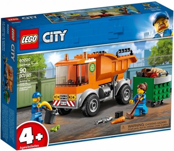LEGO City: Śmieciarka (60220)