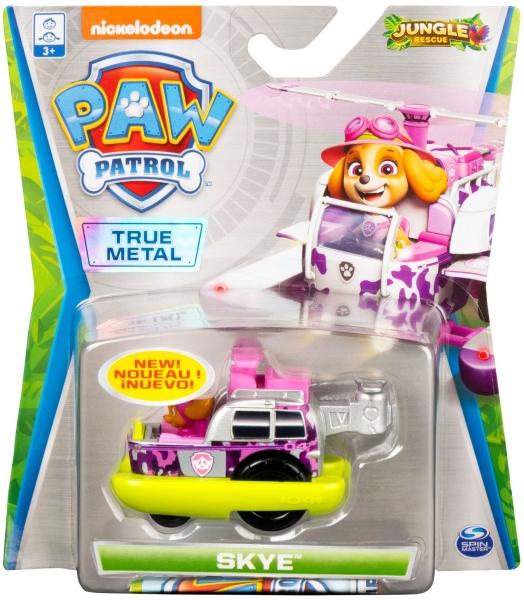 Psi Patrol Jungle Rescue: pojazd metalowy - Skye (6053257/20121348)