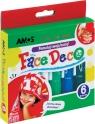 Farby do twarzy Amos Face Deco 6 kolorów
