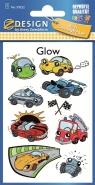 Naklejki świecące w ciemności - Samochody (59252)