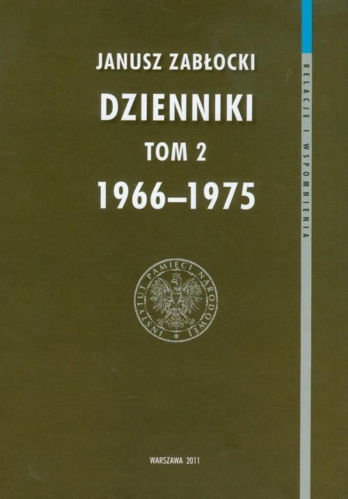 Dzienniki 1966-1975 Tom 2 Zabłocki Janusz