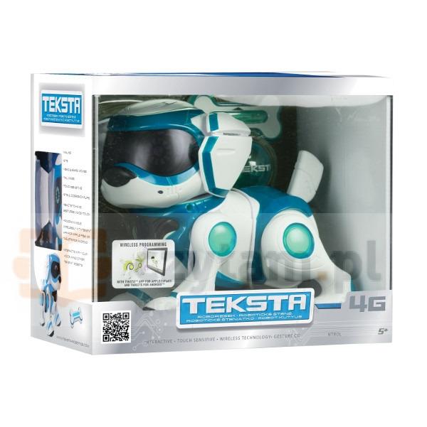 TEKSTA Robopiesek niebieski (70252/70252B)