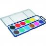 Farby akwarelowe szkolne, 12 kolorów (62867)