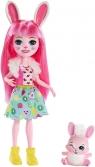 Enchantimals: lalka Bree Bunny + zwierzątko