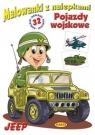 Malowanki z nalepkami - Pojazdy wojskowe Jeep