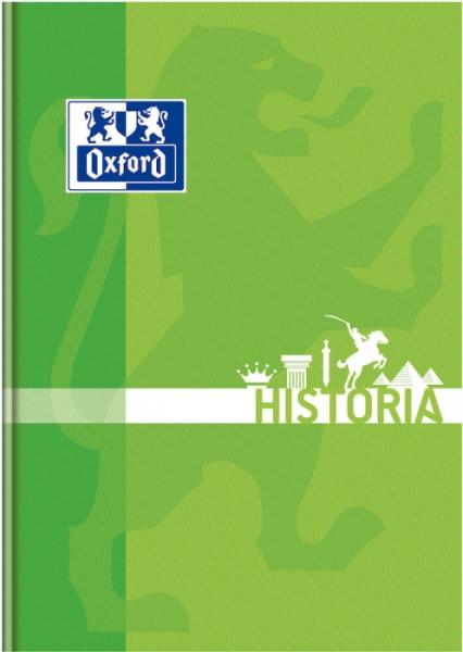 Brulion Oxford A5/80k, kratka z marginesem - Historia (400128283)