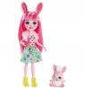 Enchantimals: Lalka Bree Bunny + króliczek Twist (DVH87/FXM73)
