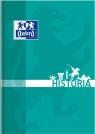 Brulion Oxford A5/80k, kratka z marginesem - Historia (400128283)mix