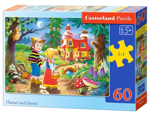 Puzzle Hansel and Gretel 60 (06526)