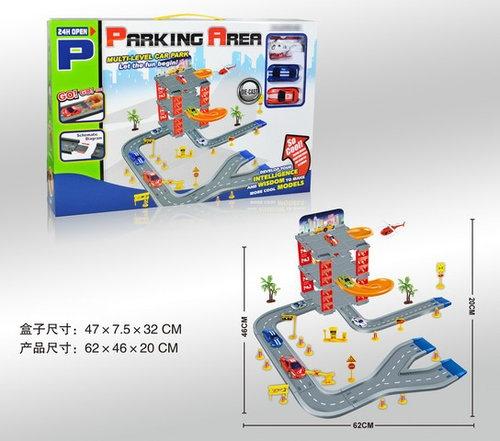 Parking 3 poziomy rozmiar po rozłożeniu 62 x 46 x 20