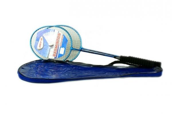 Badminton w pokrowcu plus lotka (002857)