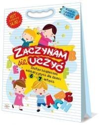 Zaczynam się uczyć - zestaw książek edukacyjnych 6-7 lat Praca zbiorowa