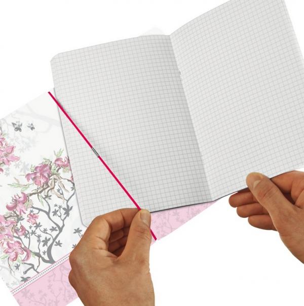 Notatnik PP my.book flex A5/40k w kratkę - Ladylike Bloom (11361664)