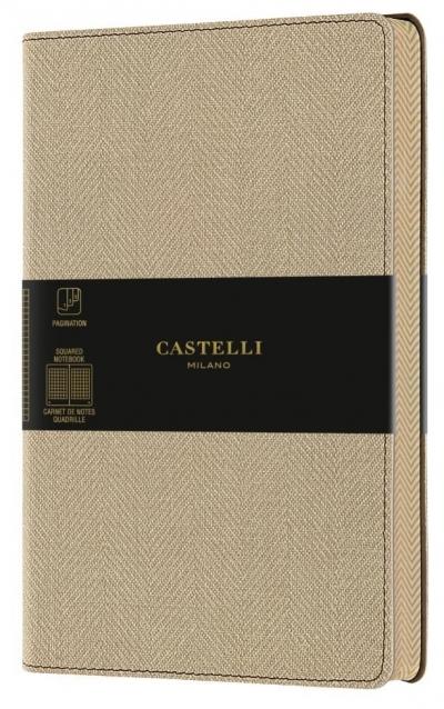 Notatnik 13x21cm kratka Castelli Harris Desert San