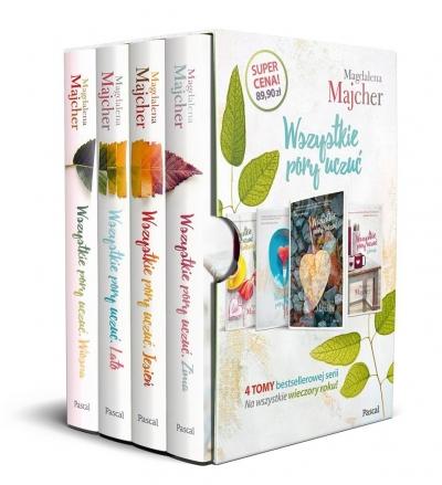 Pakiet: Wszystkie pory uczuć Majcher Magdalena