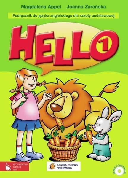Hello! 1. Podręcznik. Szkoła podstawowa Appel Magdalena, Zarańska Joanna