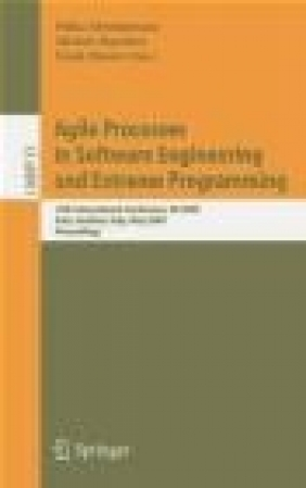Agile Processes in Software Engineering and Extreme Programm P Abrahamsson