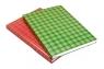 Brulion A4 w kratkę 192 kartek szkocka krata