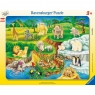 Puzzle ramkowe 14: Wizyta w Zoo (6052) Wiek: 3+