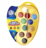 Farby akwarelowe 12 kolorów paletka